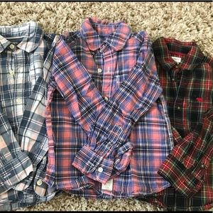 Bundle of Carter's Button-Down Shirts